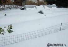 снегозадержание на участке